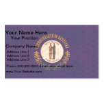 Vintage Pattern Kentuckee Flag Double-Sided Standard Business Cards (Pack Of 100)