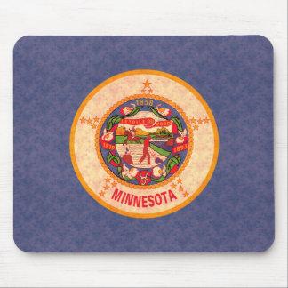 Vintage Pattern Minnesotan Flag Mouse Pad