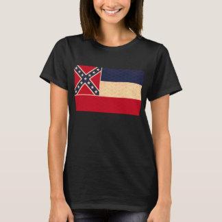 Vintage Pattern Mississippian Flag T-Shirt