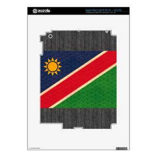Vintage Pattern Namibian Flag iPad 3 Skin