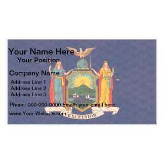 Vintage Pattern New Yorker Flag Double-Sided Standard Business Cards (Pack Of 100)