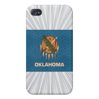 Vintage Pattern Oklahoman Flag iPhone 4 Cover