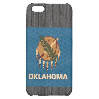 Vintage Pattern Oklahoman Flag iPhone 5C Cases