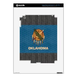 Vintage Pattern Oklahoman Flag iPad 3 Skins