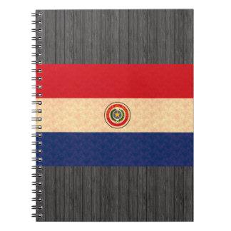 Vintage Pattern Paraguayan Flag Notebook