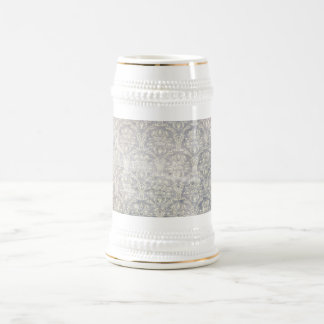 Vintage pattern - Picture 10 (Black & white) Beer Stein