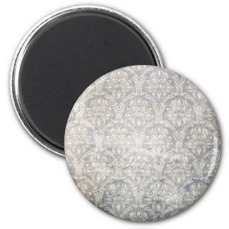 Vintage pattern - Picture 10 (Black & white) 2 Inch Round Magnet