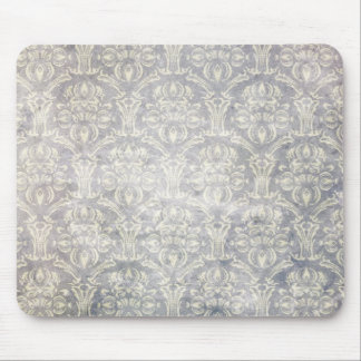 Vintage pattern - Picture 10 (Black & white) Mouse Pad