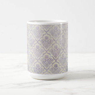Vintage pattern - Picture 11 (Violet & white) Coffee Mug