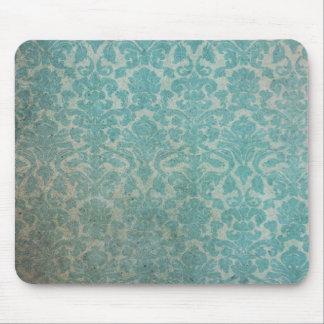 Vintage pattern - picture 12(blue) mouse pad