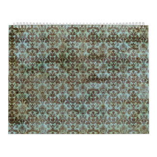 Vintage pattern - picture 9 (brown & blue) calendar