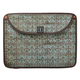 Vintage pattern - picture 9 (brown & blue) sleeve for MacBook pro