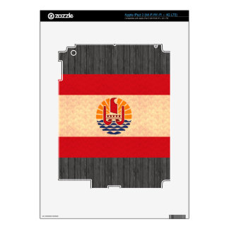 Vintage Pattern Polynesian Flag Decal For iPad 3