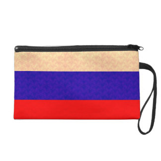 Vintage Pattern Russian Flag Wristlets
