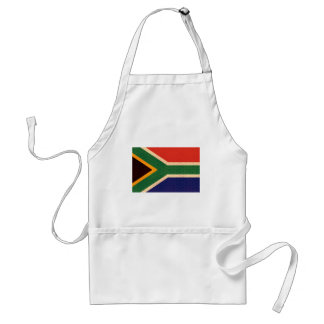 Vintage Pattern South African Flag Apron