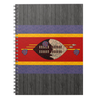 Vintage Pattern Swazi Flag Notebook