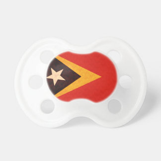 Vintage Pattern Timorese Flag Baby Pacifiers