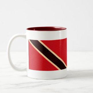 Vintage Pattern Trinidadian Flag Mug