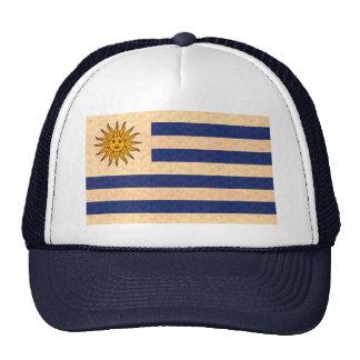 Vintage Pattern Uruguayan Flag Trucker Hat