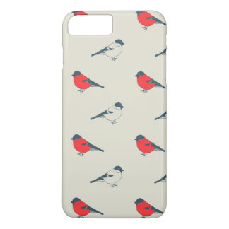 vintage pattern with birds iPhone 7 plus case