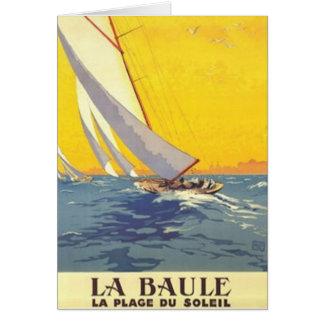 Vintage Pays de la Loire , La Baule, France - Card