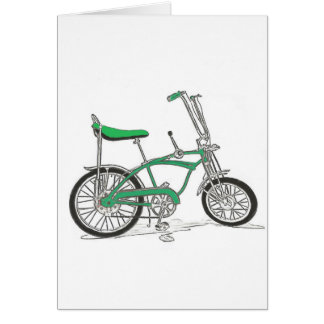 Vintage Pea Picker Green Sting Ray Bike Bicycle Cards