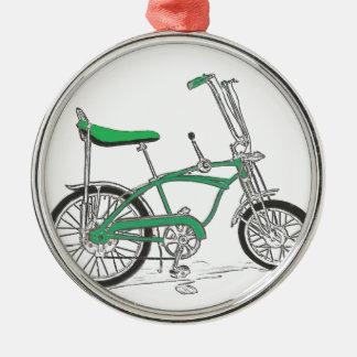 Vintage Pea Picker Green Sting Ray Bike Bicycle Metal Ornament