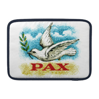 Vintage Peace on Earth Sleeve For MacBook Air