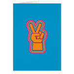Vintage | Peace Sign Card