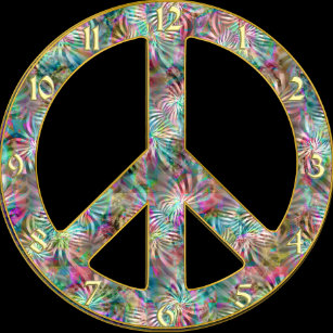 Peace Sign Art Wall Decor Zazzle