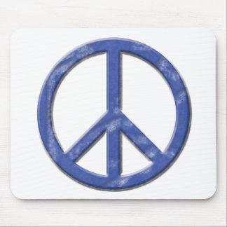 Vintage Peace Sign Mouse Pad