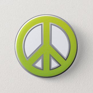 Vintage   Peace Sign Pinback Button
