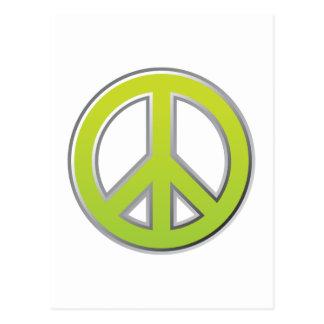 Vintage | Peace Sign Postcard