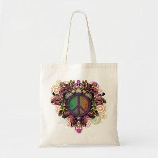 Vintage Peace Tote Tote Bags