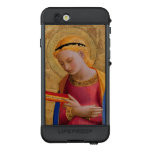 Vintage Peaceful Holy Angel Figure Holding Book LifeProof NÜÜD iPhone 6s Case