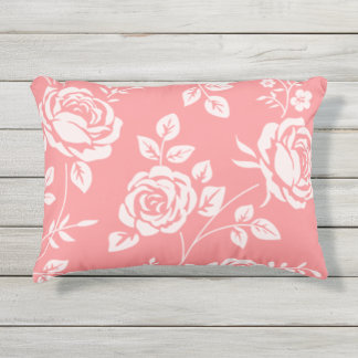 Vintage_Peach_Floral_OUTDOOR-INDOOR-Pillows Outdoor Pillow