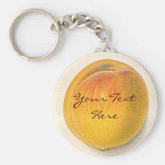 Vintage Peach Keychain