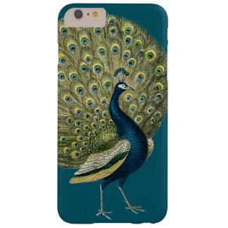Vintage Peacock Barely There iPhone 6 Plus Case