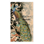 Vintage Peacock Business Card
