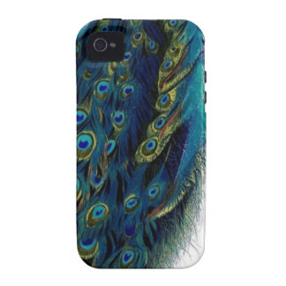 Vintage Peacock iPhone 4/4S Cover