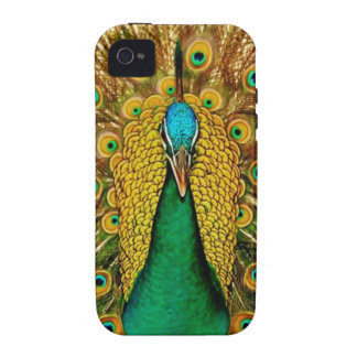 Vintage Peacock iPhone 4/4S Case