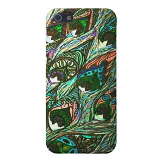 vintage peacock feather iphone case iPhone 5 case