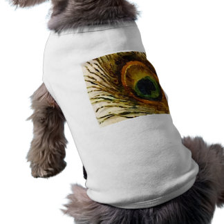 Vintage Peacock Feather T-Shirt