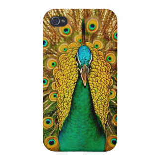 Vintage Peacock iPhone 4 Cover