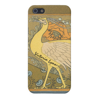 Vintage Peacock iPhone Cover