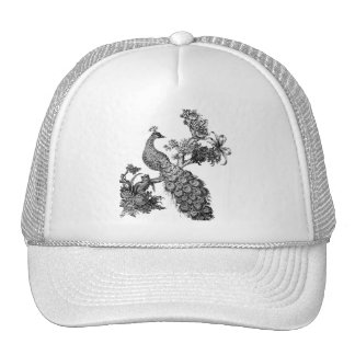Vintage Peacock on Branch T-shirts and Gifts Trucker Hat