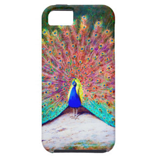 Vintage Peacock Painting iPhone 5 Case
