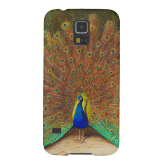 Vintage Peacock Painting Galaxy S5 Cover