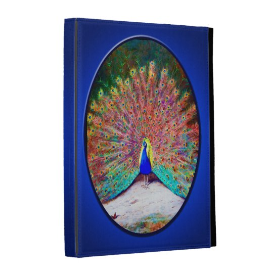 Vintage Peacock Painting iPad Cases