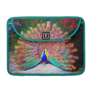 Vintage Peacock Painting Sleeve For MacBooks